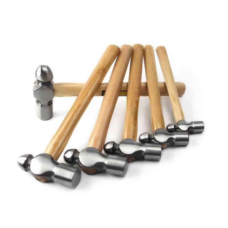 High-carbon Steel Round Hammer, Ball Nipple Hardware Tool