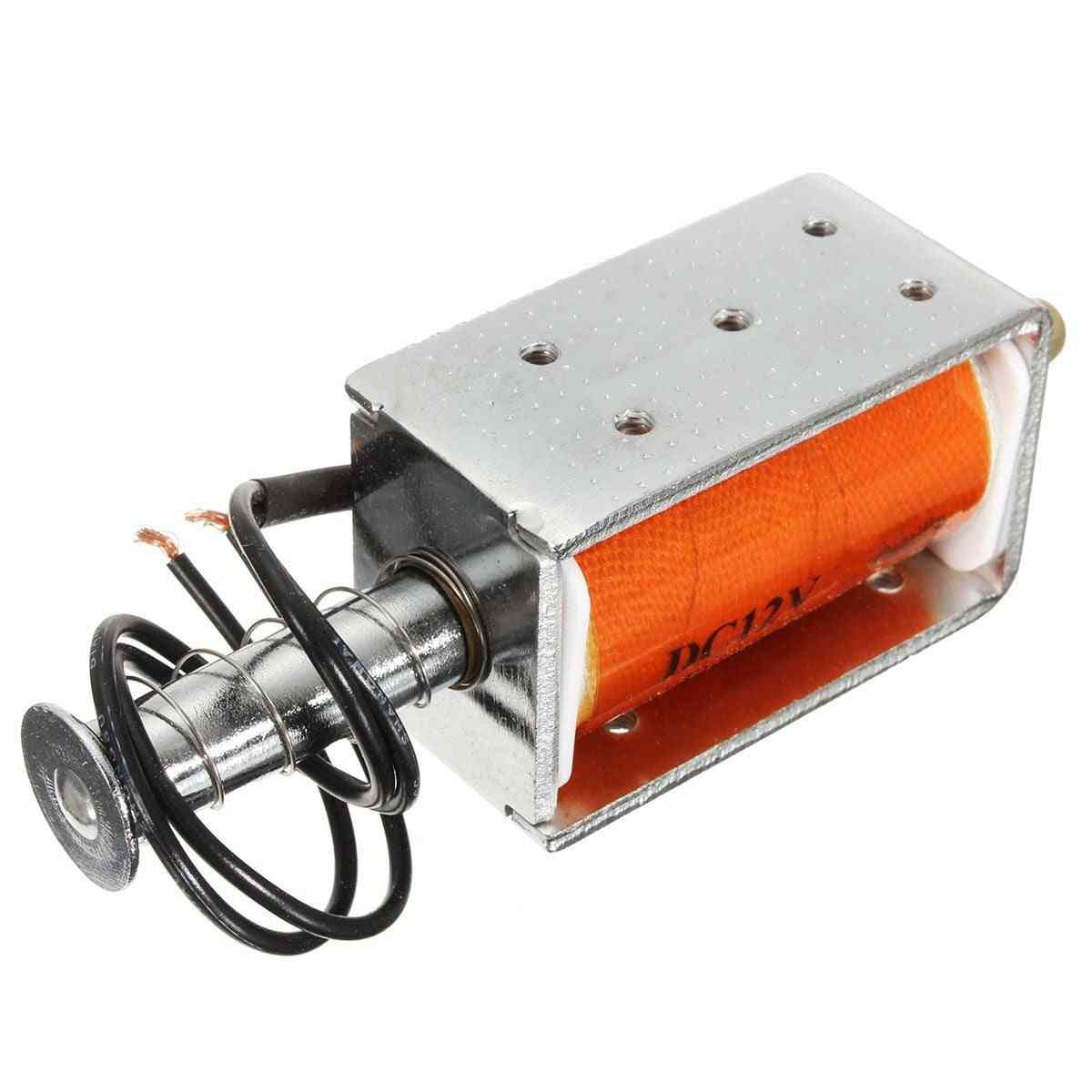 Long-stroke Push-pull Solenoid Dc Small Durable Electromagnetic Electric Magnet