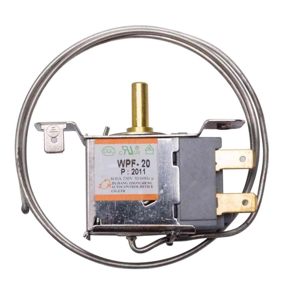 2-pins Refrigerator Thermostat, Mechanical Temperature, Control Switch