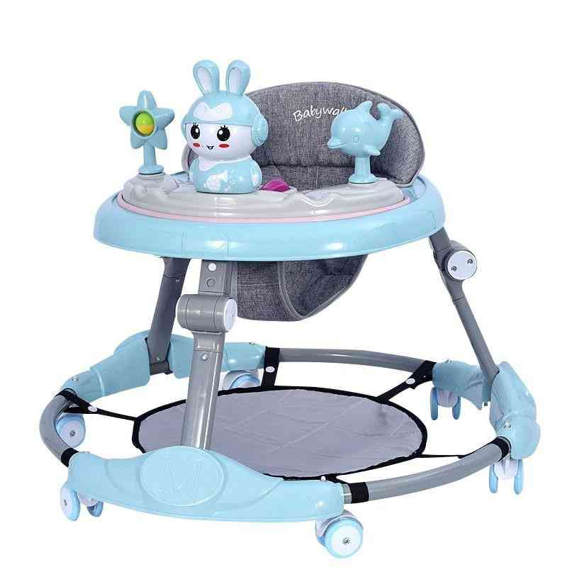 Baby Walker With Wheels Infant Balance Car, Foldable Activity