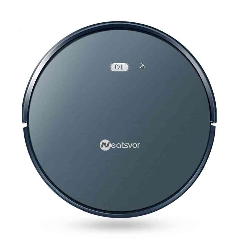 Robot Vacuum Cleaner Powerful Suction Pet Hair Dry Wet Mopping Cleaning