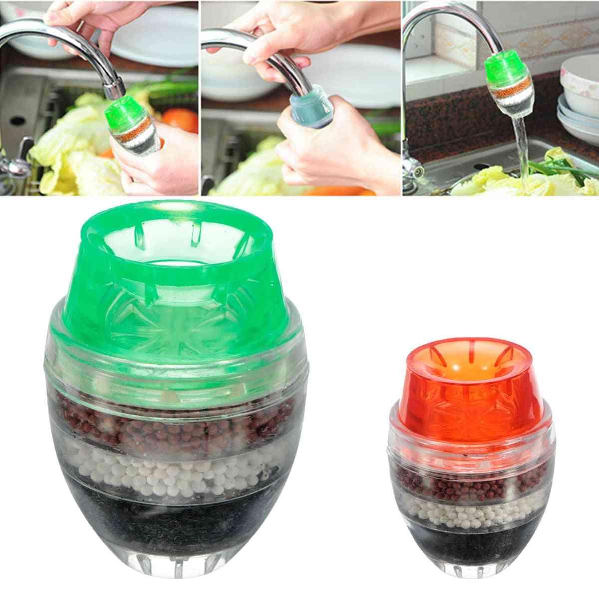 Carbon Faucet Mini Tap Water Clean Filter Purifier
