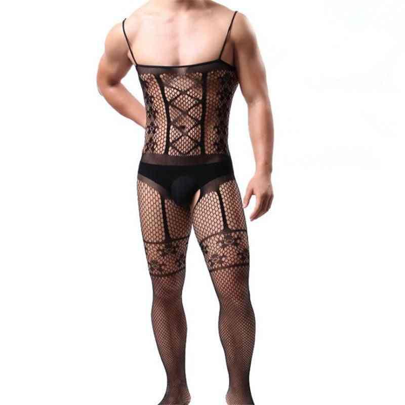 Latex Erotic Lingerie Bodystocking Catsuit Body Suit