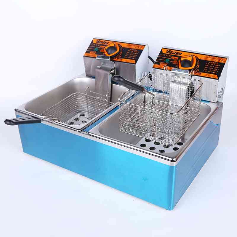 Multi-functional Electric Fryer, Snacks Frying Furnace