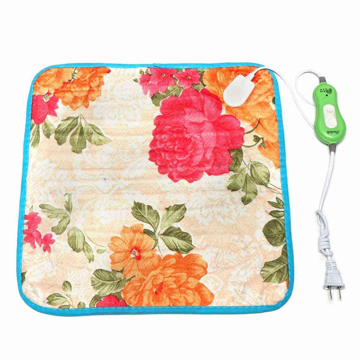 Electric Heat Pad, Temperature Adjustable Pet Bed Blanket Puppy Bunny Heater Mat