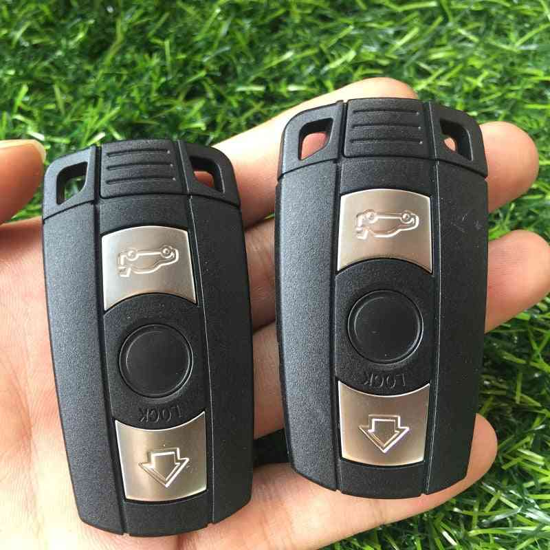 Remote Key Shell For Replacement 3-button Smart Car-key Case Cover