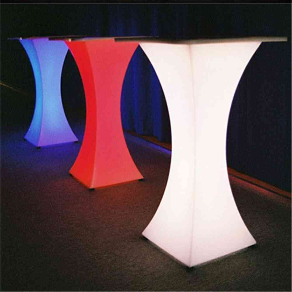 Rechargeable Illuminated, Cocktail Waterproof Glowing, Led Bar Table