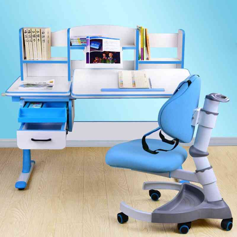 Kids Study- Writing Desk & Chair Suit Table
