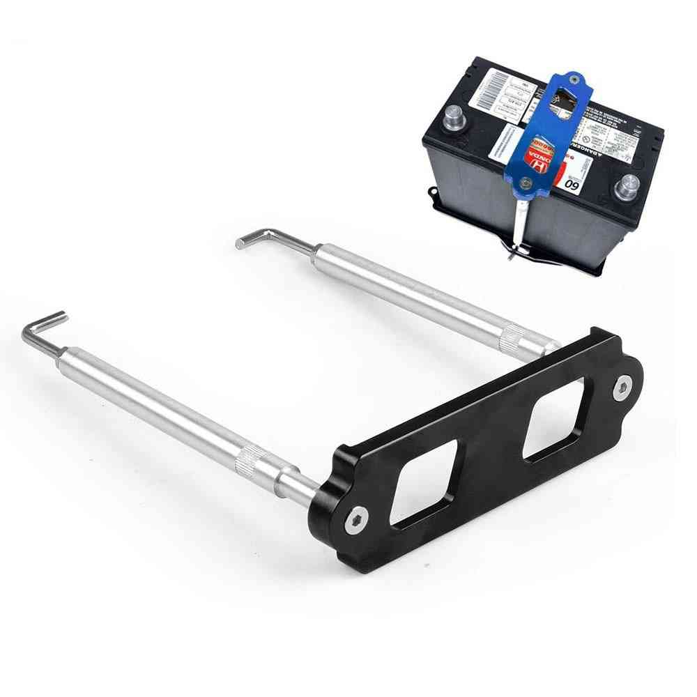 Battery Tie Down Kit- Hold Rod With Stainless Tray Hooks
