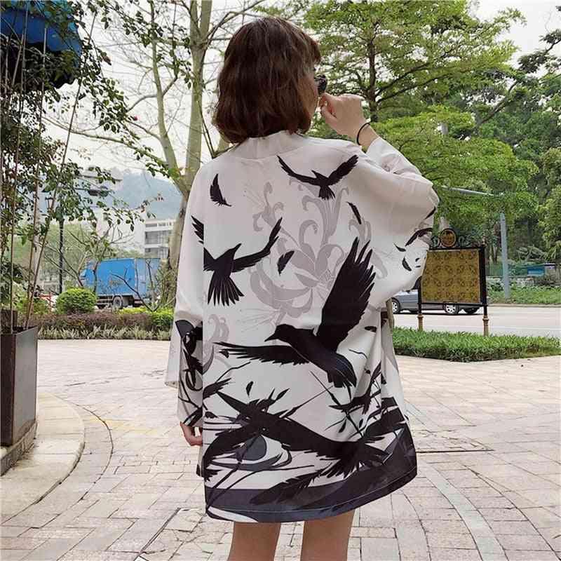Cardigan Beach Japanese Kimono Traditional Cosplay Women