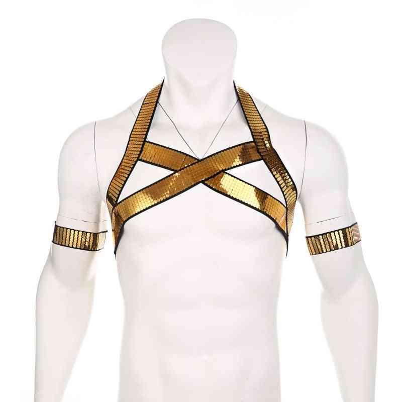 Golden Harness, Body Chest Strap