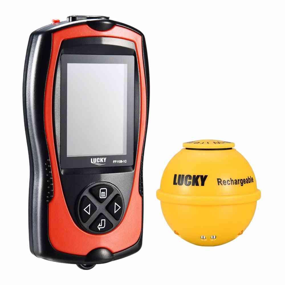 Depth Sonar Fish Finder, Light Sensor, Echo Sounder, Sea Fishing Radar Equipment