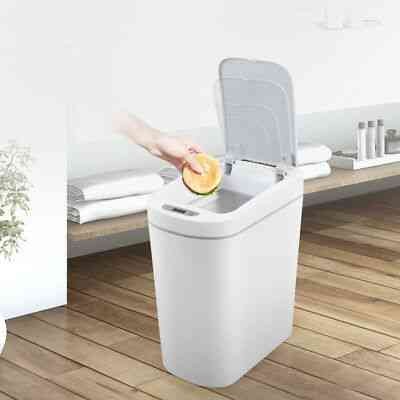 Smart Trash Can, Motion Sensor, Auto Sealing Led, Induction Cover (7l)