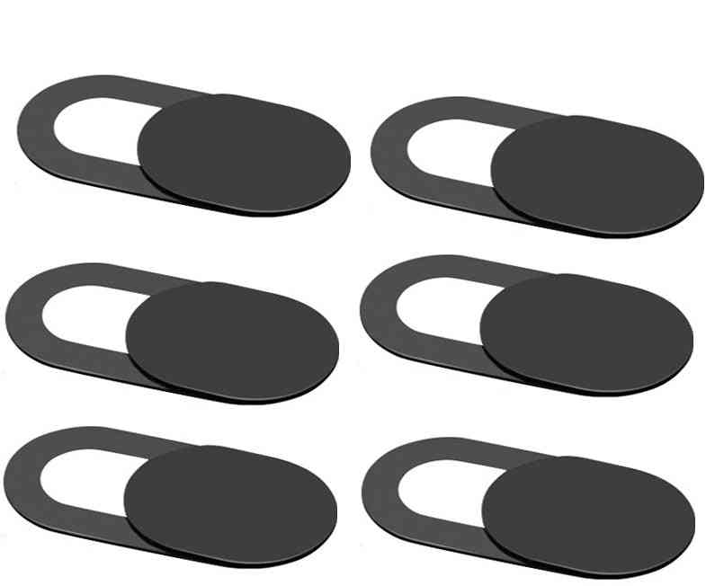 Webcam Shutter Magnet, Slider Plastic Camera Cover, Lens Privacy Sticker