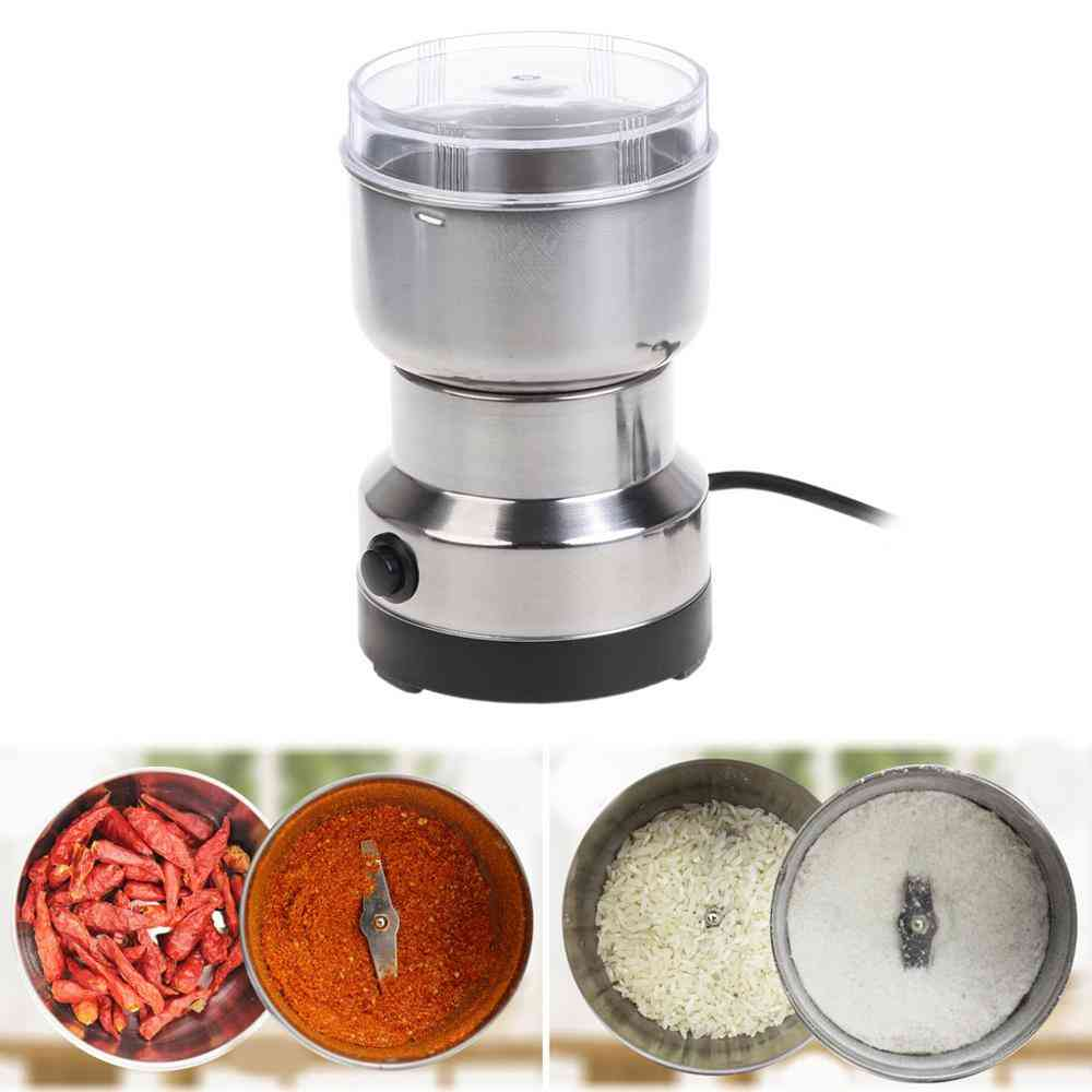 Stainless, Electric Herbs/ Spices/ Nuts/ Grains/ Coffee Grinder