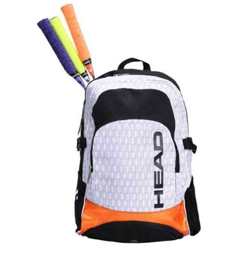Tennis Rackets Badminton Bag With Shoes Compartment