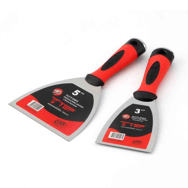 2pcs Stainless Steel Putty Wall Plastering Knife