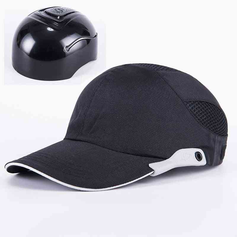 Safety Bump With Reflective Stripes, Hard Hat Head, Protection Cap