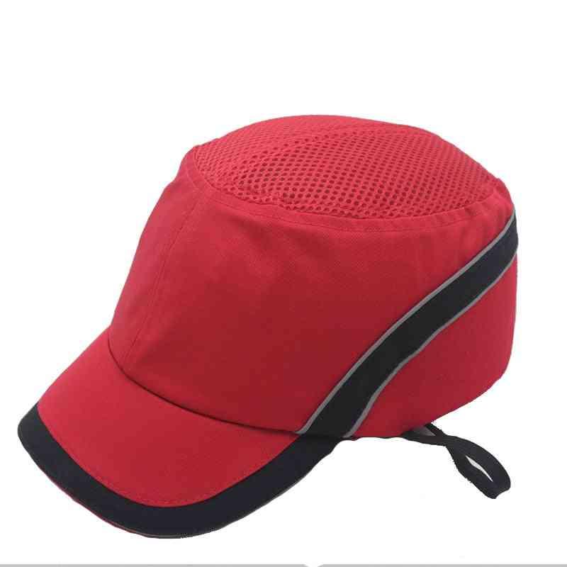 Safety Bump Cap, Hard Inner Shell, Protective Helmet & Baseball Hat