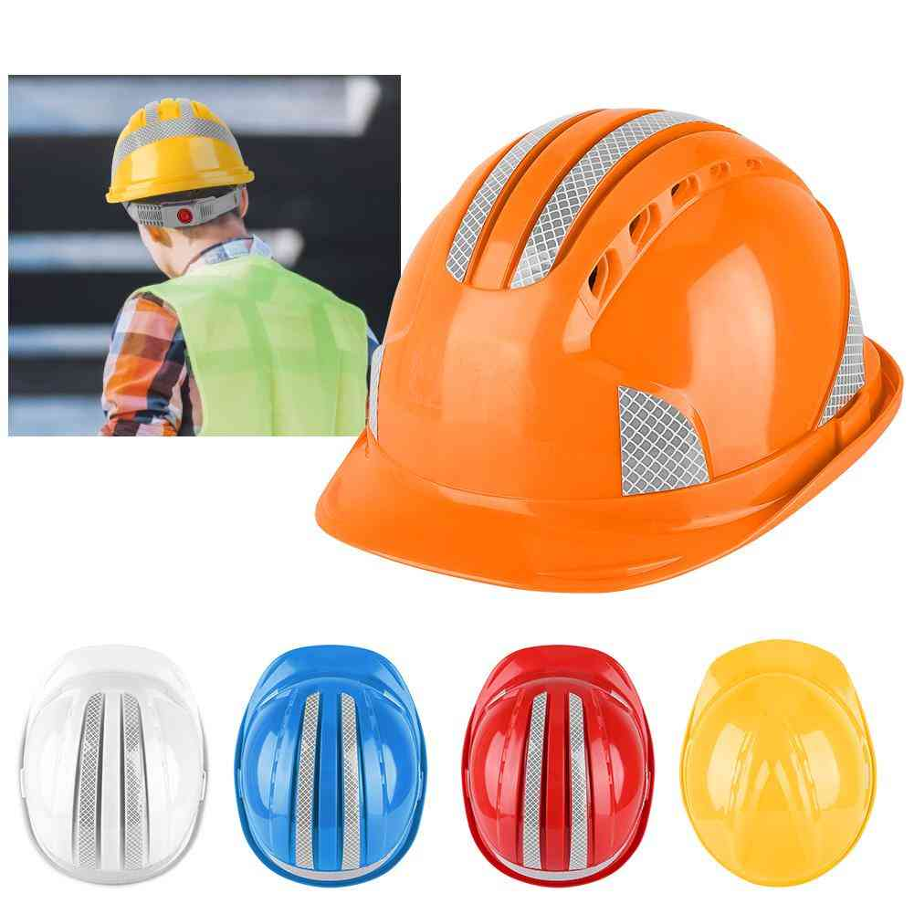 Hard Reflective Stripe, Ventilate Site Protective, Cap Helmet