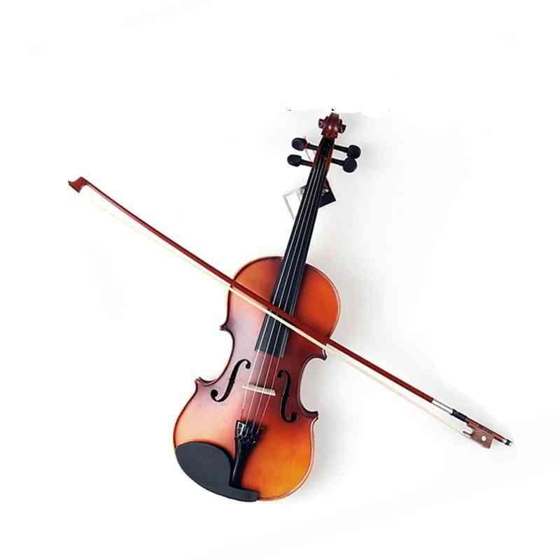 Children Violin Full Set With Case Bow Rosin
