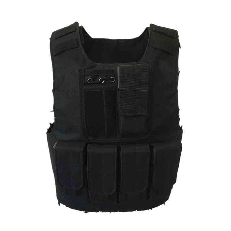 Kids Tactical Vest Camouflage Bulletproof Special Forces Military Uniform
