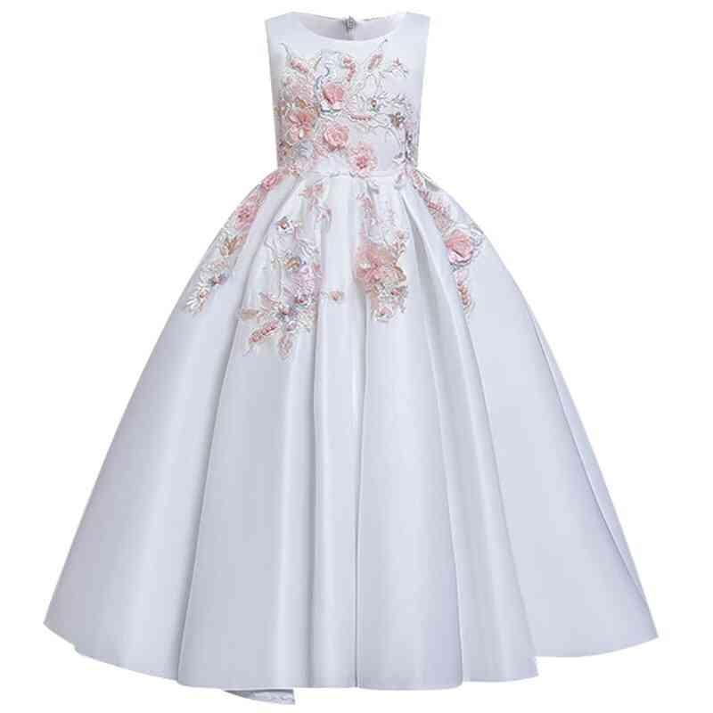 Pageant Party Lace Petal, Long Banquet Gown Dress For Set-8