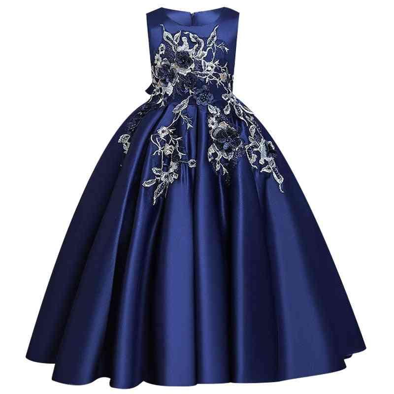 Pageant Lace Petal, Long Banquet, Gown Dresses For Set-15