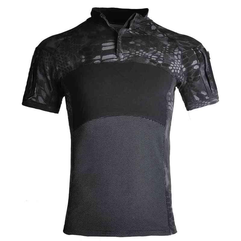 Men Military Army T-shirt, Outdoors Combat Shirts
