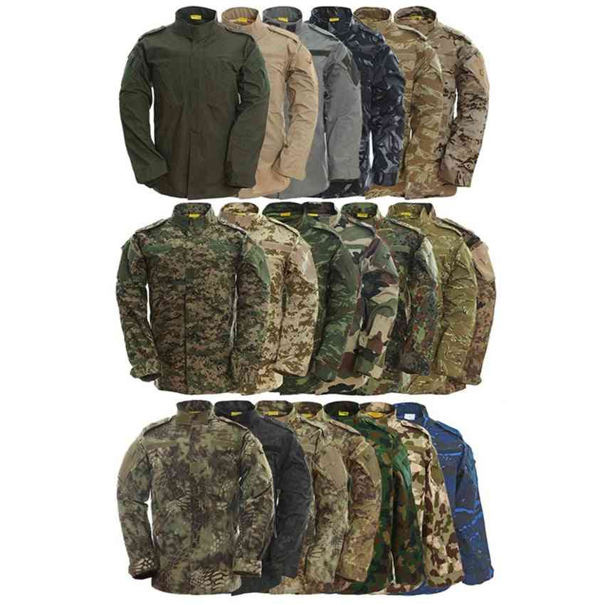 Army Special Forces Military Uniform / Combat Shirt, Tactical Clothes Pant Set