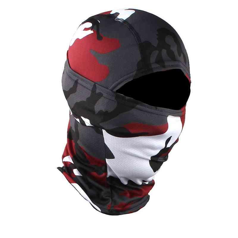 Balaclava Hood Ninja Outdoor Cycling, Motorcycle & Hunting Military Tactical Gear Full Face Mask