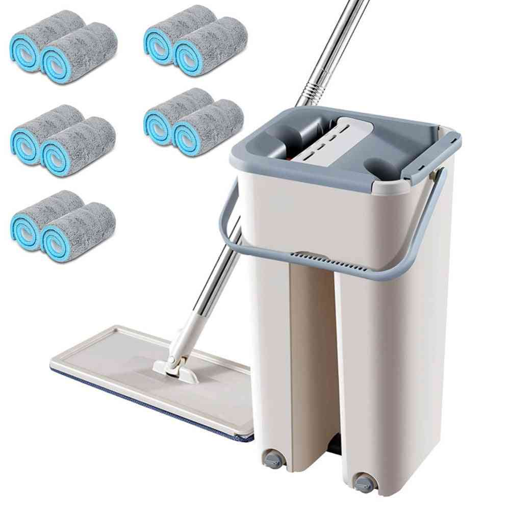 Free Hand Spin Cleaning Microfiber Mop