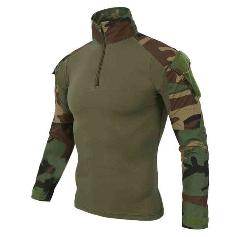 Camouflage Colors Us Army Combat Uniform Military Shirt