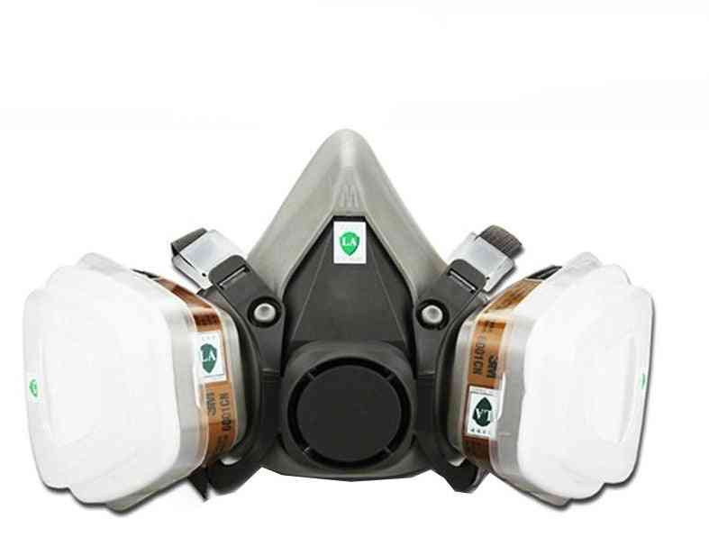 Respirator Dust Gas Mask For Painting Spray Pesticide, Pesticide Chemical Smoke Fire Protection