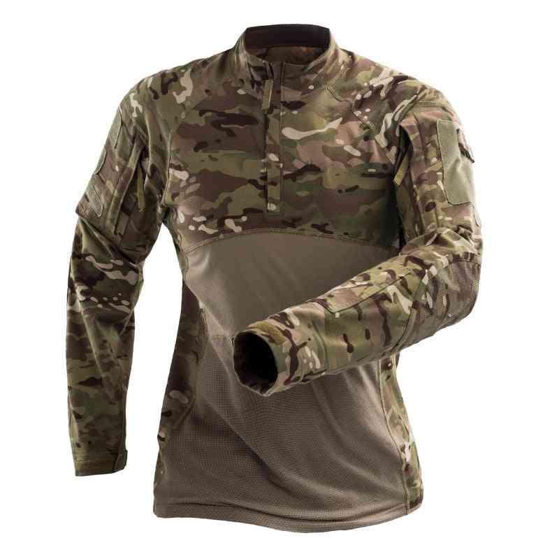 Military Tactical T-shirt, Men Training Shirts