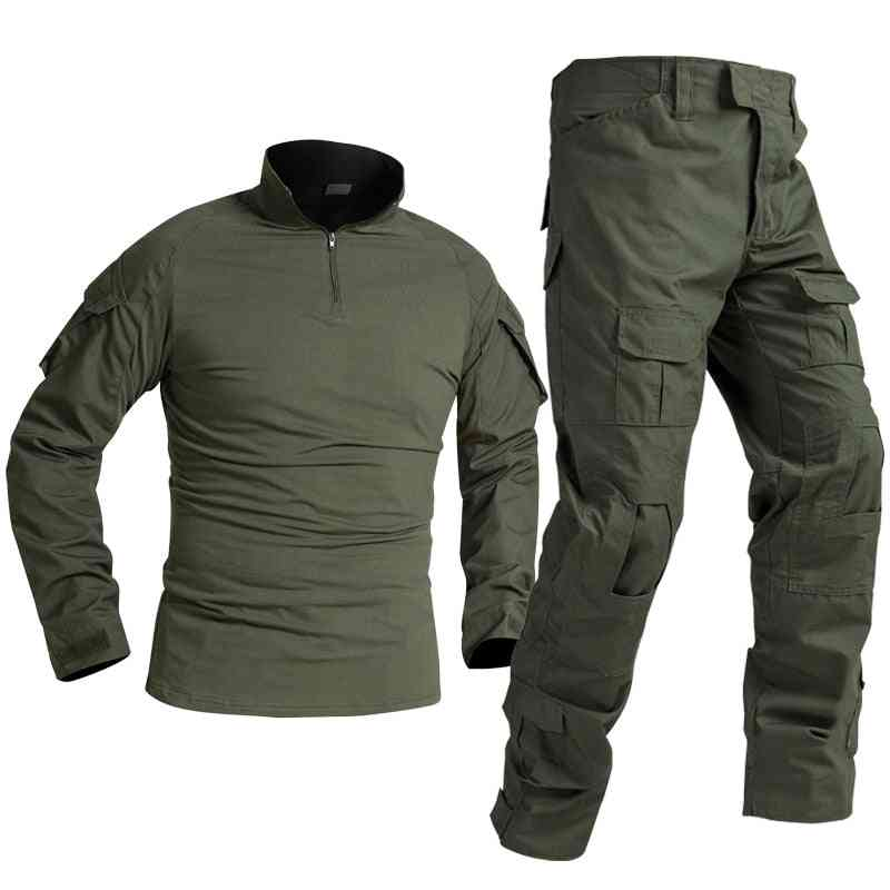 Tactical Military Uniform Special Forces Soldier Suit, Paintball Clothing