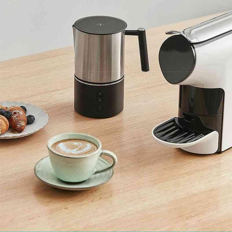 Electric Foamer Bubble Coffee Diy Machine, Latte Art Creamer Maker