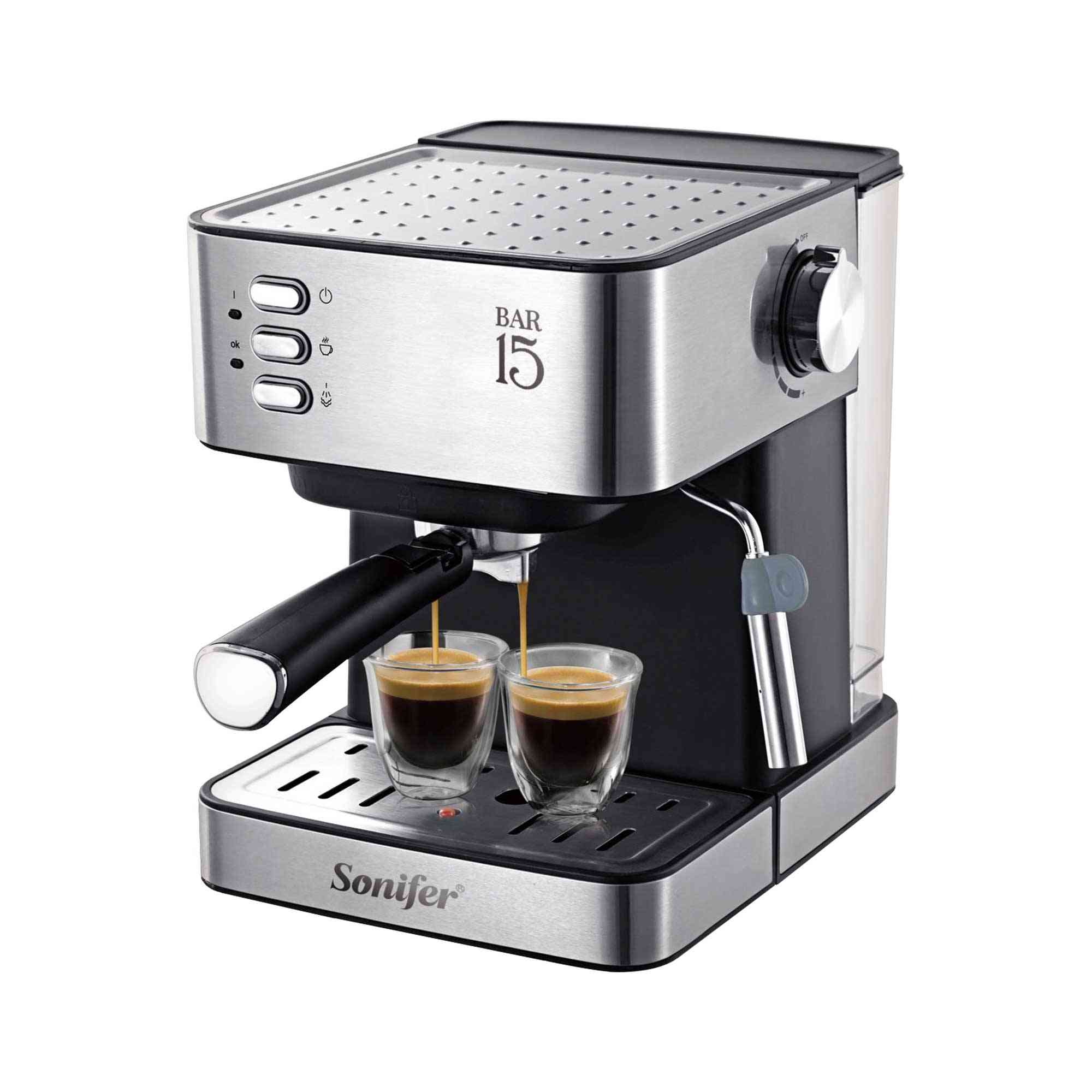 Electric Espresso Coffee Grinder Foam Machine