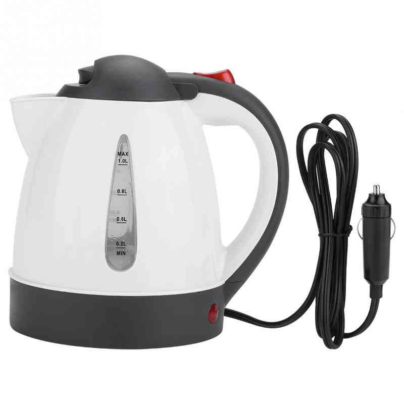 24v Car Travel Auto Electric In-car Kettle Heating Water Bottle