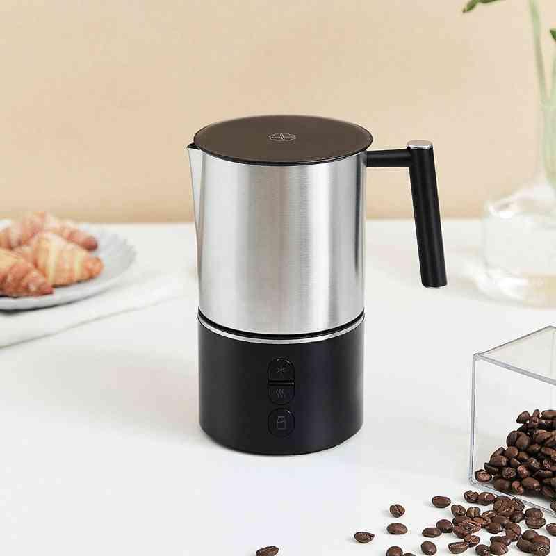 Detachable Milk Frother Electric Steamer For Making Latte Cappuccino Macchiato Warm Milk