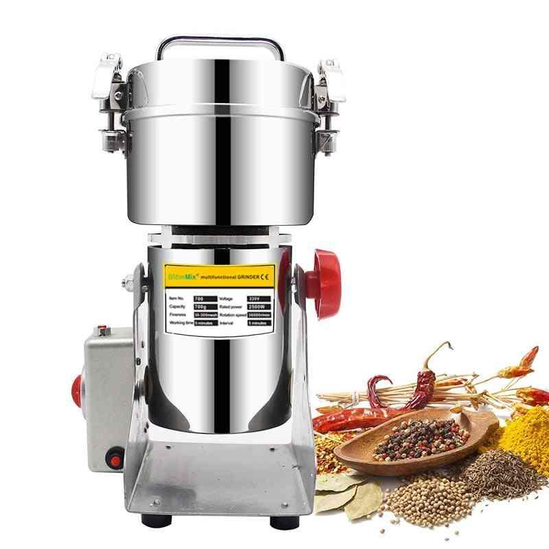 Herbals Cereals Coffee Dry Food Grinder Mill, Grinding Machine