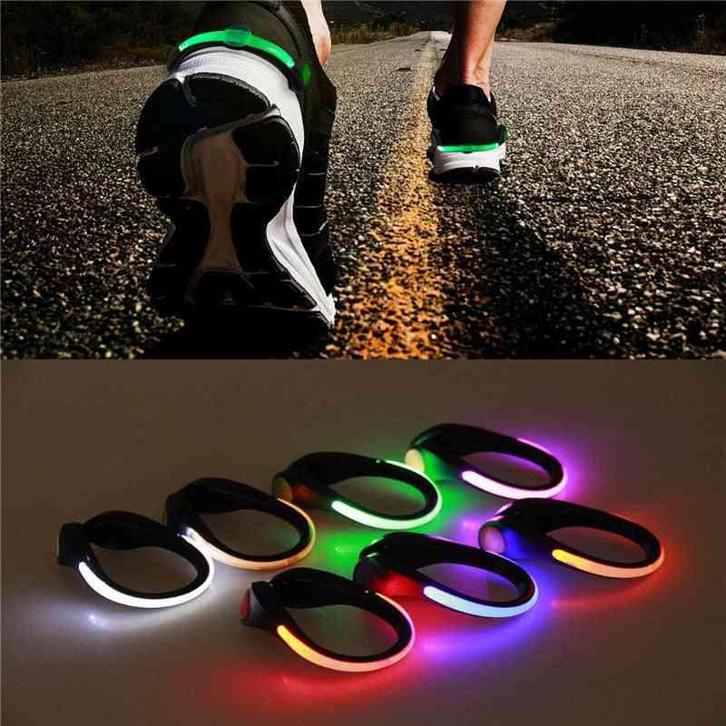 Led Luminous Shoe Clip Light, Outdoor Running Night Lamp
