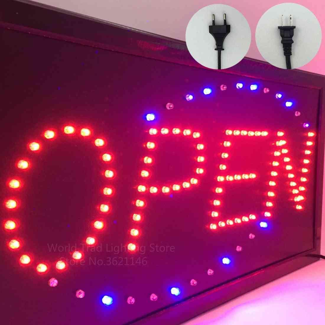 Led Store Open Sign Logo, Light Board