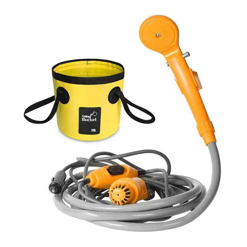 Portable Car Washer, Camping Shower, High Pressure Set