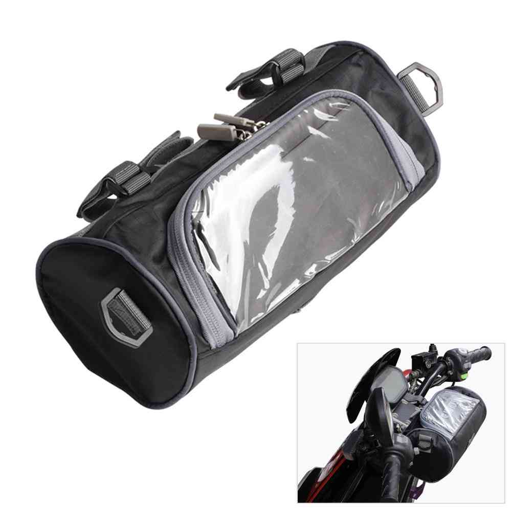 Universal Storage Bag Waterproof, Front Fork Pouch For Motorcycle, Bicycle Handlebar