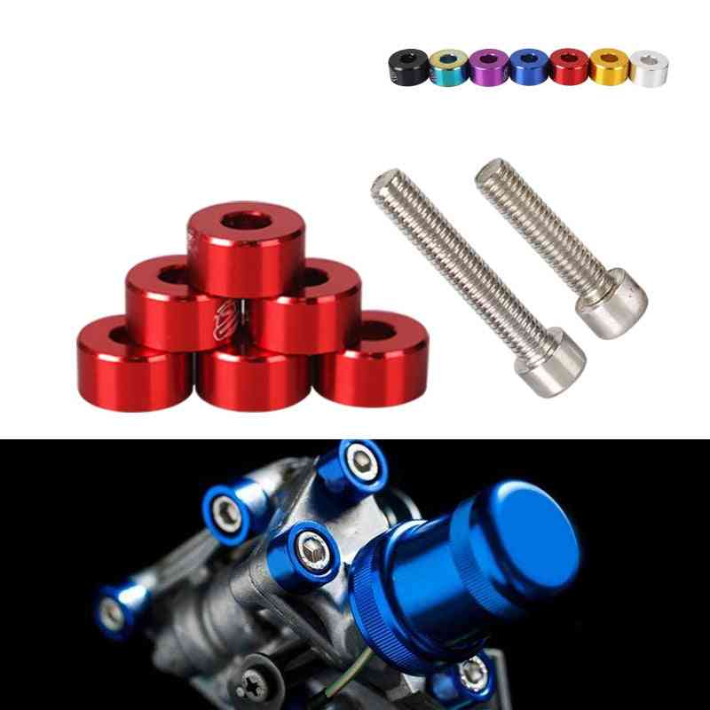 Aluminum Fender Washers And Bolt For Air Inlet Manifold Engine