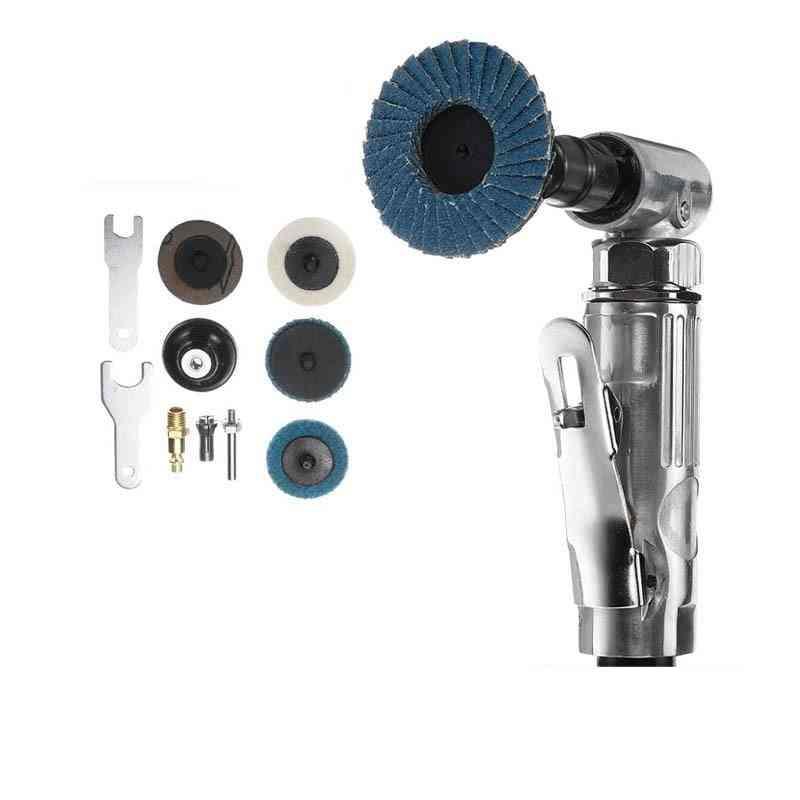Mini Portable Air Angle Die Pneumatic Grinding Machine Tool Set