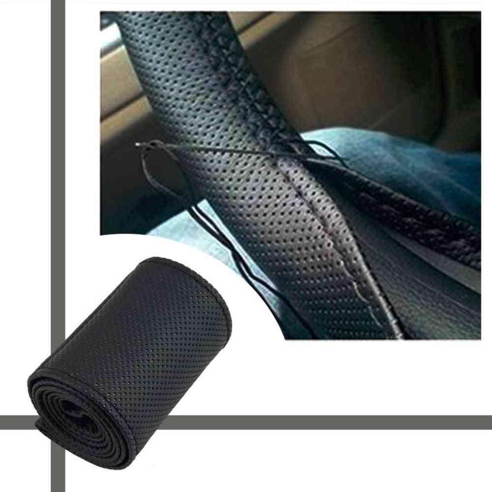Microfiber Skid-proof Car Steering Wheel Cover