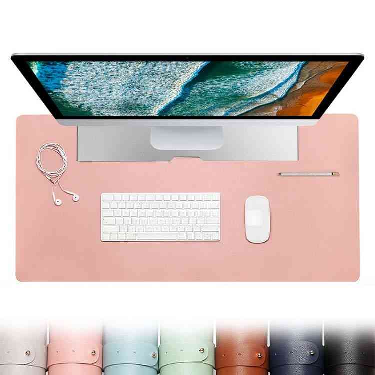 Pu Leather- Large Computer, Mouse Pad, Gaming Accessories