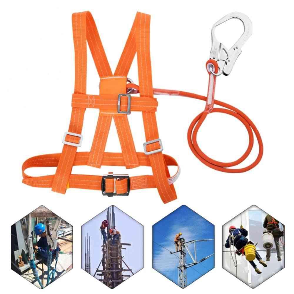 3 Stypes Outdoor Adjustable Waist Circumference Climb Harness Safety Belt
